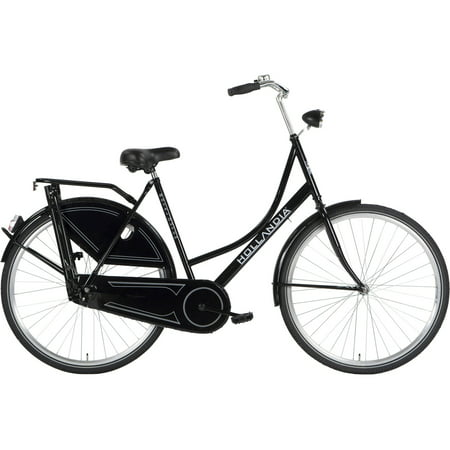 Hollandia Royal Dutch Black 700C City Bicycle