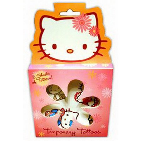 Hello Kitty Temporary Tattoos Set - Hello Kitty Makeup For Halloween