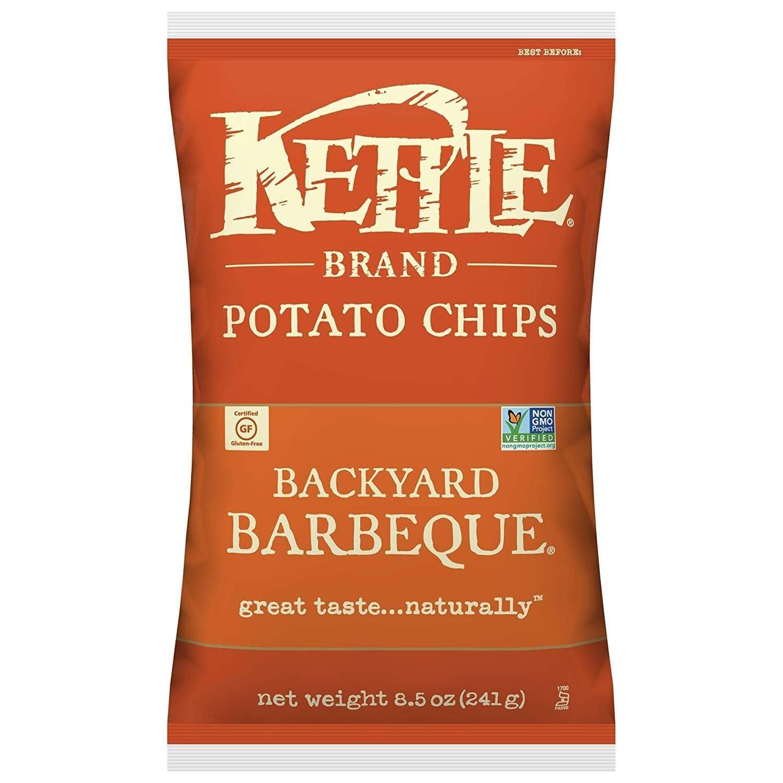 Kettle Brand Backyard Barbeque Potato Chips, 8.5 Oz.