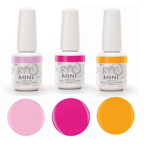 Gelish Neon Street Beat 3 Color Gel Nail Polish Kit -  Includes 3 9mL Bottles