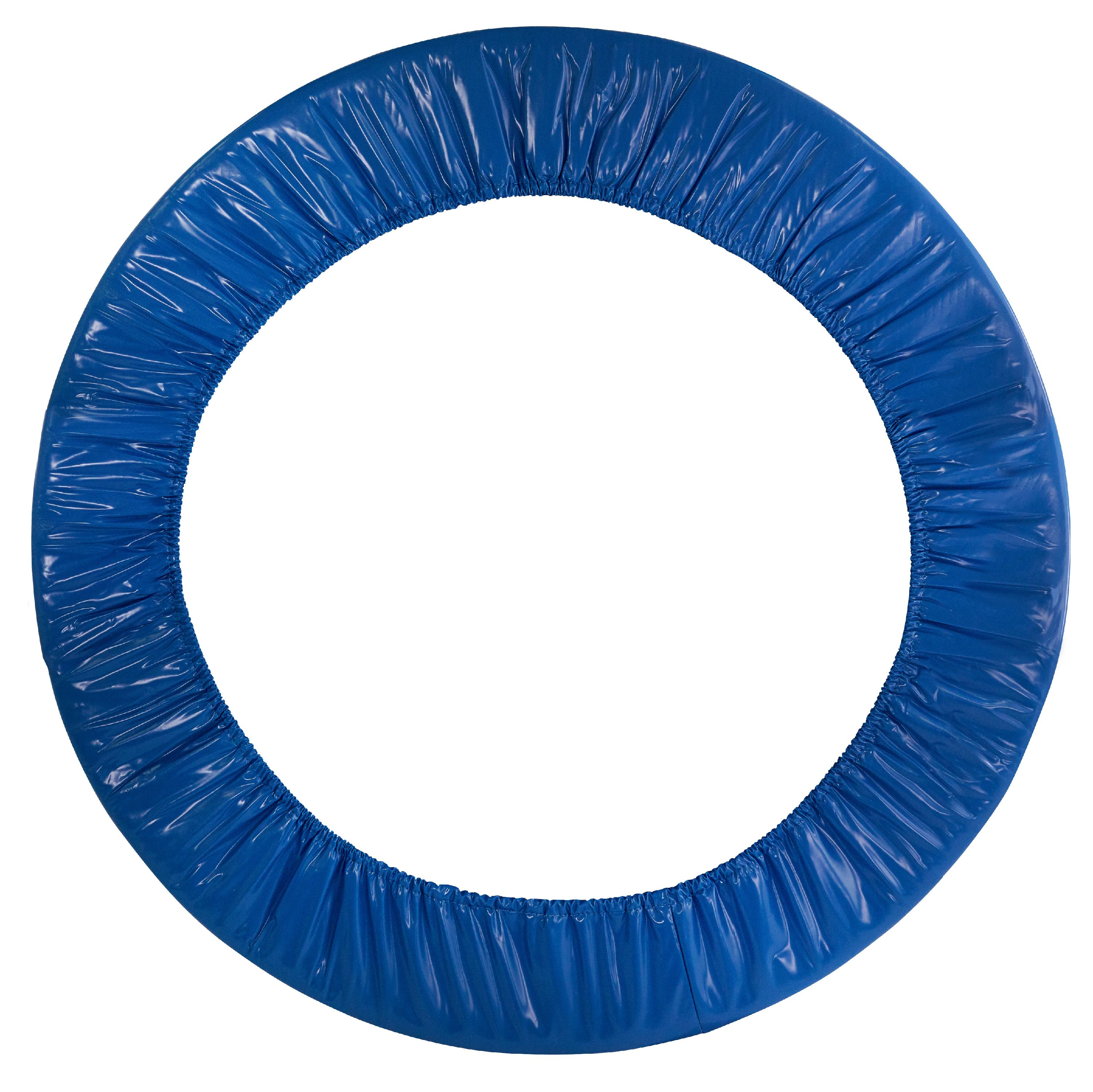 "40"" Mini Round Trampoline Replacement Safety Pad for 6 Legs - Blue"