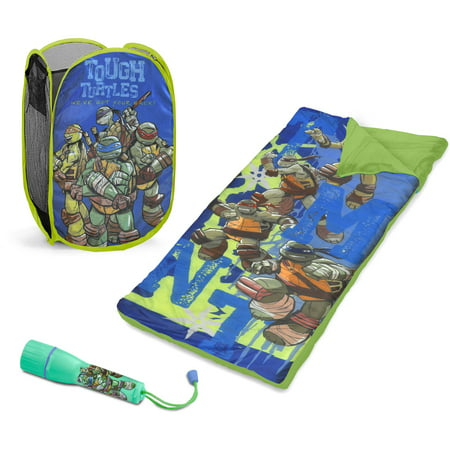 Girls Sleepover Set - Nickelodeon Ninja Turtles Sleepover Set with BONUS Hamper