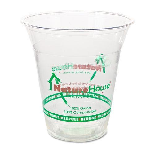 Savannah FK02 Plastic Cup, 12oz, Clear, 50/Pack