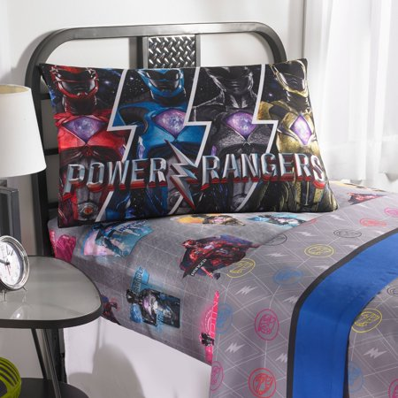 Power Rangers 'Band Together' Bedding Sheet Set