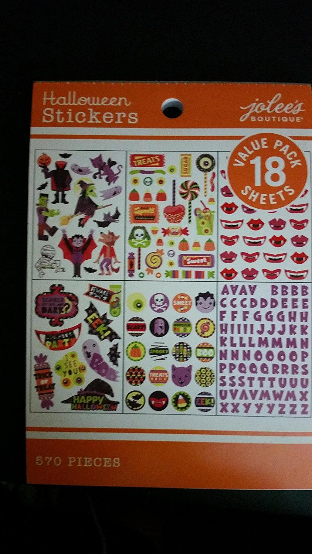 Jolee's Boutique Halloween Stickers