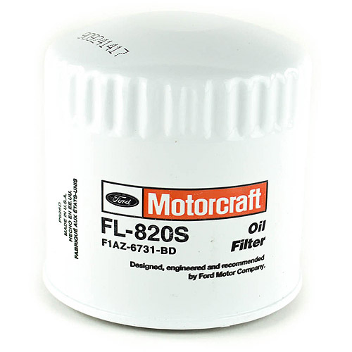 MotorCraft Oil Filter,  FL820S