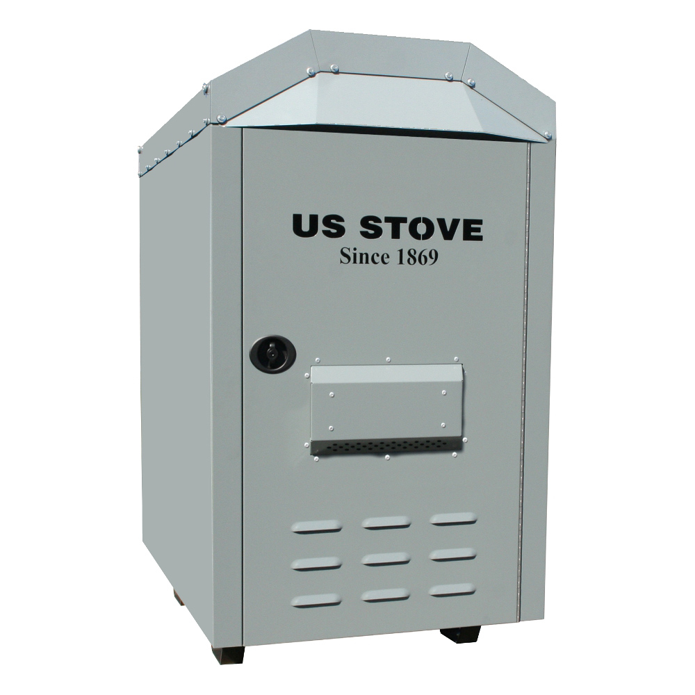 3,000 Sq. Ft EPA Certified Outdoor Wood Burning Warm Air Furnace