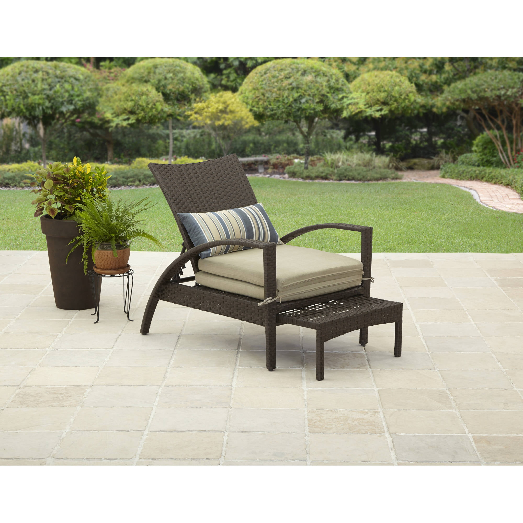 patio furniture walmartcom - Garden Furniture Loungers