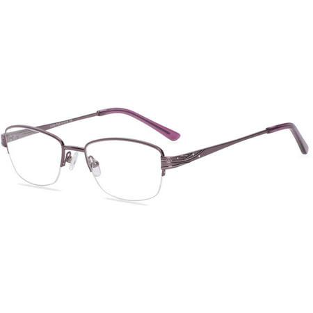Visage Womens Prescription Glasses, E203 Purple - Walmart.com