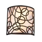 Worldwide Lighting Cumulus 2-Light Wall Sconce