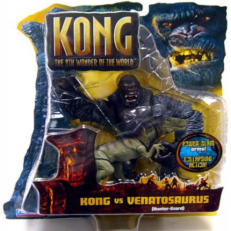 Playmates King Kong The 8th Wonder of the World Action Fi...