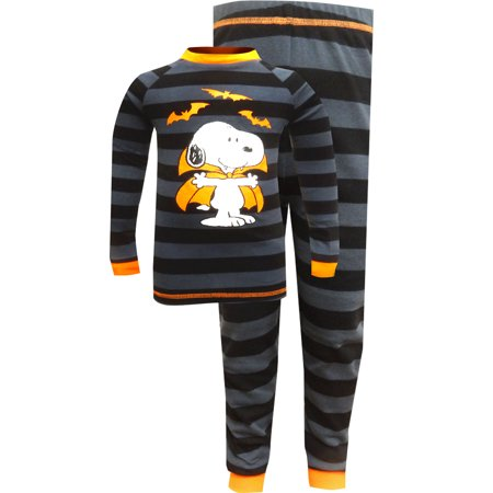 Peanuts Snoopy Count Dracula the Vampire Halloween Pajamas - Halloween Cartoon Peanuts