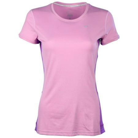 Nike Dri Fit Miler UV Short Sleeve Running Top 717419 586 SIZE L RETAIL $38 New