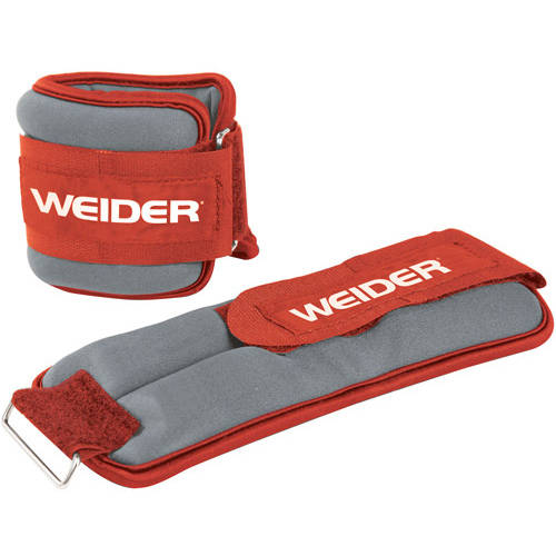 Weider Pair Ankle Weights, 5-8lbs