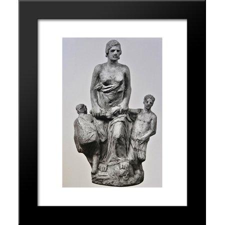 Medea Body Art (Medea III 20x24 Framed Art Print by Yannoulis)