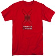 Infinite Crisis Title Mens Big and Tall Shirt