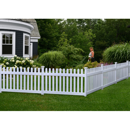 Zippity Outdoor Products 3 ft. H x 6 ft. W Newport Yard Fence Panel by Zippity Outdoor Products