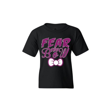 Shop4Ever Youth Fear The Bow Cheer Graphic Youth - Teen Cheer