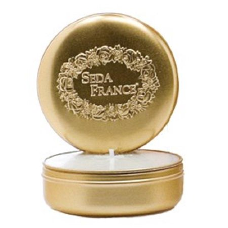Seda France Classic Toile Travel Tin Candle Malaysian Bamboo 2 oz ()