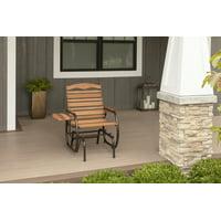 Country Garden Glider Chair in Bronze