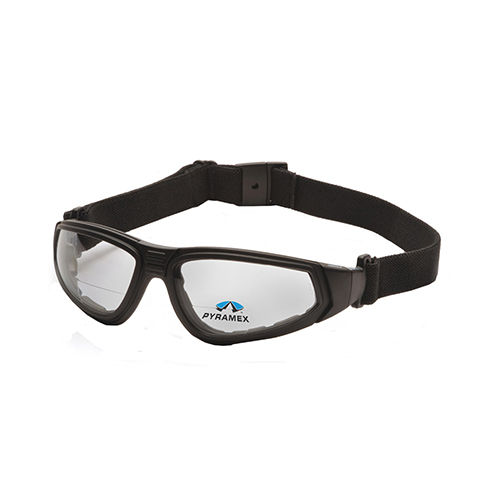 Pyramex Safety Products XSG Safety Glasses Clear Anti-Fog Reader Lens with Black Strap... by Pyramex Safety Products