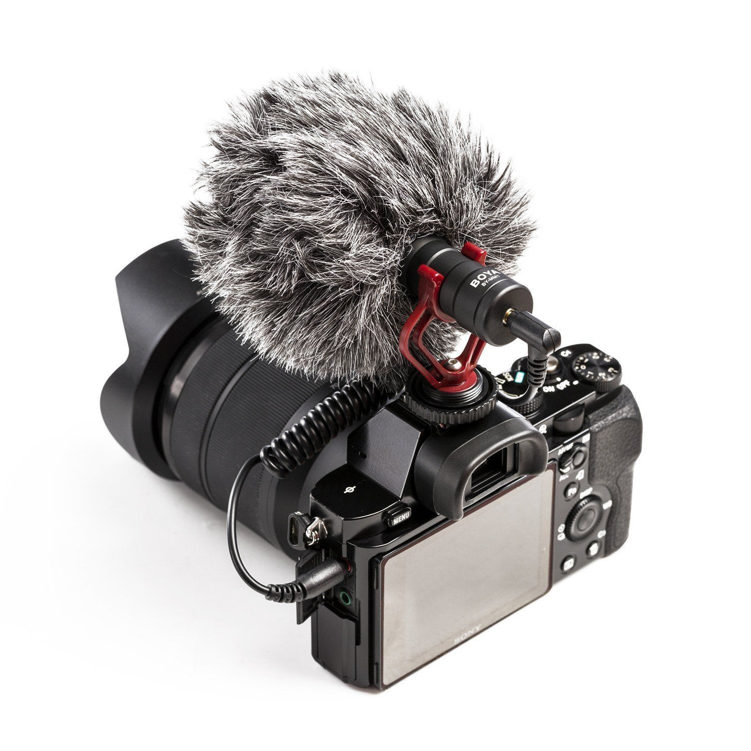 Boya By Mm1 Shotgun Microphone For Iphone Android Smartphone