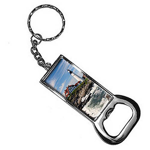 Portland Head Lighthouse Me Keychain Key Chain Ring Bottle Bottlecap Opener