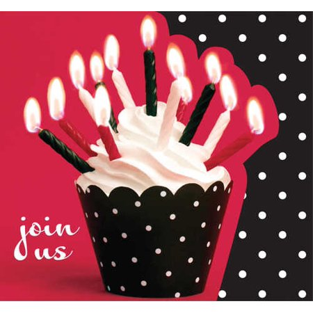 Cupcake Blowout Party (Cupcake Invitation)