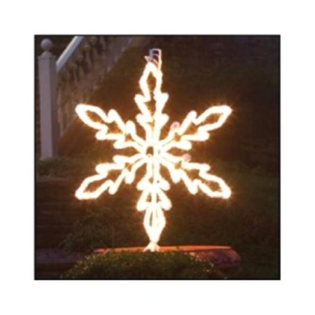 Northlight Seasonal Lighted Hanging Snowflake Christmas Decoration