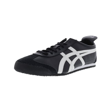 huge discount 6e64d 2b534 Onitsuka Tiger Men's Mexico 66 Black / White Ankle-High Fashion Sneaker -  14M