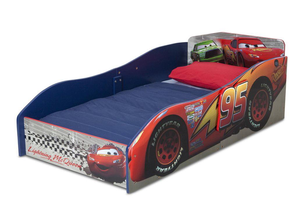 Delta Disney Cars Wooden Toddler Bed | eBay
