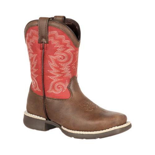 """Children's Durango Boot DBT0140 8"""" Lil' Durango Big Kid Western Boot by Durango"""