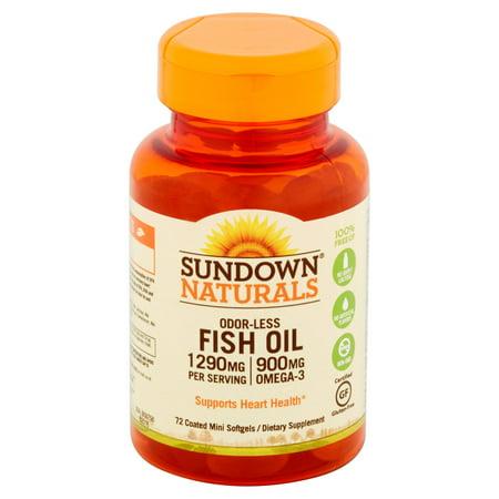 Sundown Naturals Fish Oil Mercury