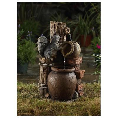 Garden Jeco FCL137 Multi-tier Pots Water Fountain Water Pond [Istilo225526] by GSS