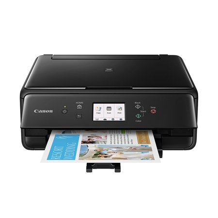 Canon Pixma Ts6120 Black Wireless Inkjet All In One Printer