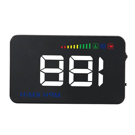 Ejoyous A500 Head Up Display,Car HUD Display,3.5inch A500 Universal Car HUD Head Up Display RPM Overspeed Warning OBD2 Windshield Projector - image 11 of 13