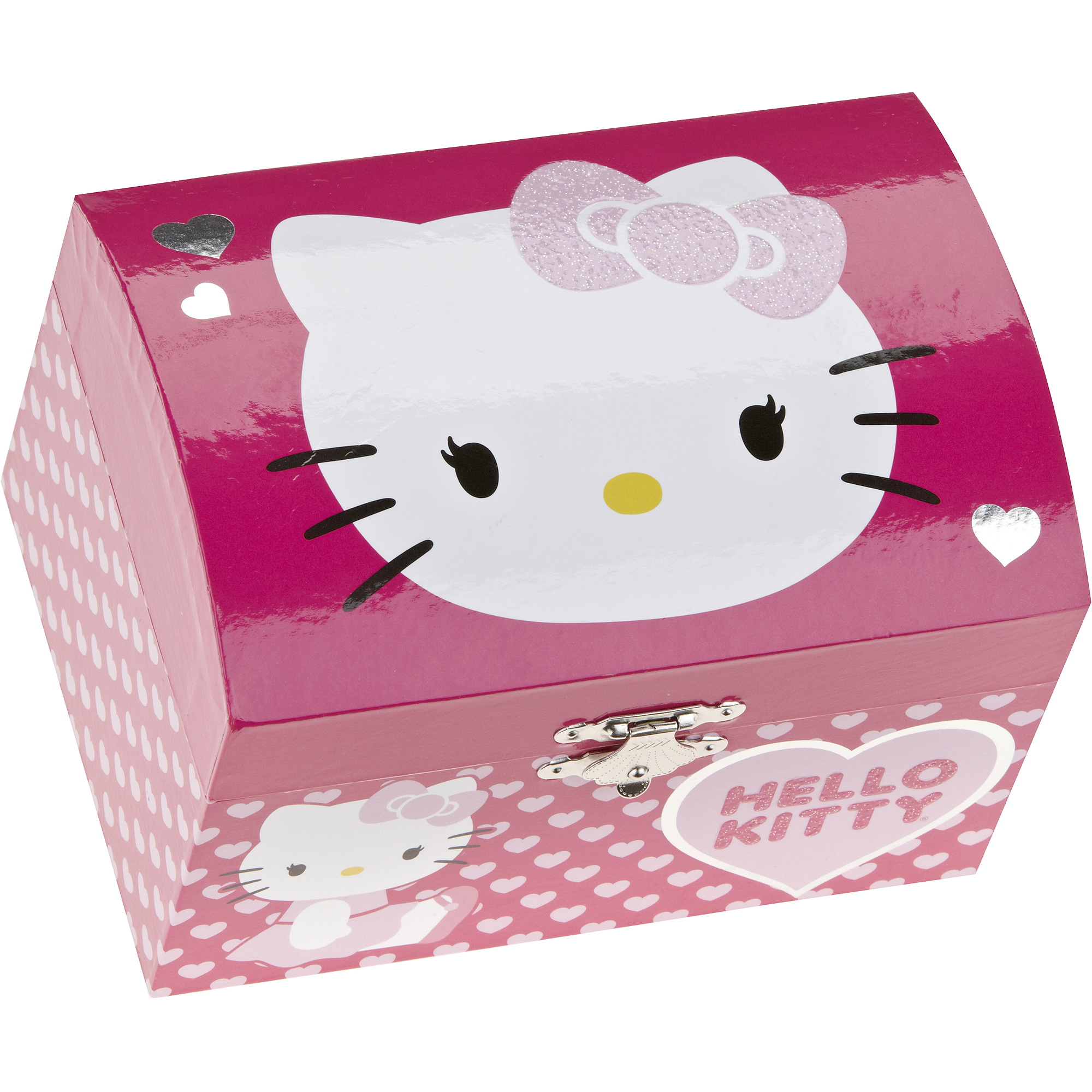 Hello Kitty Musical Jewelry Box Walmartcom