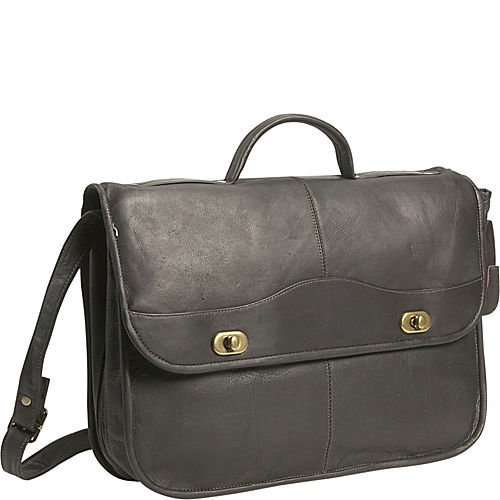 David King & Co. 1/2 Flapover Briefcase