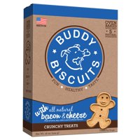 Cloud Star Buddy Biscuits Oven Baked Bacon & Cheese Dog Treats, 16 Oz