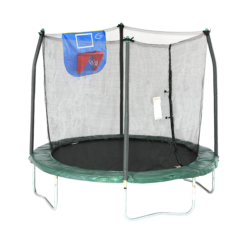 Skywalker Trampolines Jump N' Dunk Trampoline with Safety ...