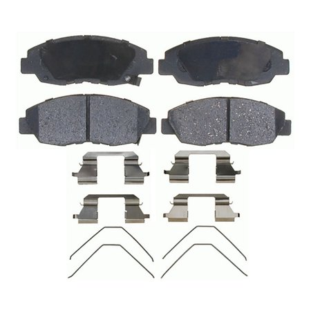 AC Delco 17D1578CH Brake Pad Set For Honda Civic, Ceramic OE Replacement