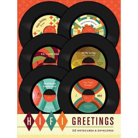 Hi-Fi Greetings: 12 Notecards & Envelopes [With 12 Envelopes]
