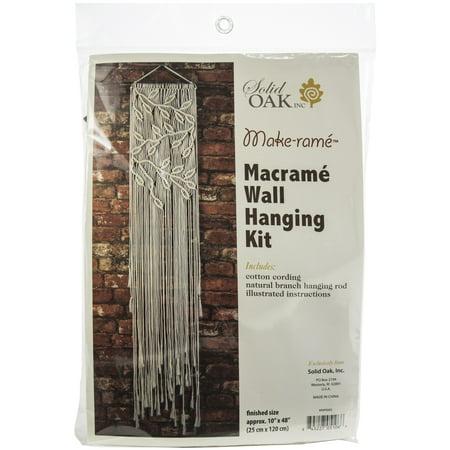 Macrame Wall Hanger Kit-Leaves & Branches - image 1 de 1