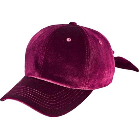 c4d43a6b2ed Women s San Diego Hat Company Velvet Bow Baseball Cap CTH8156 ...