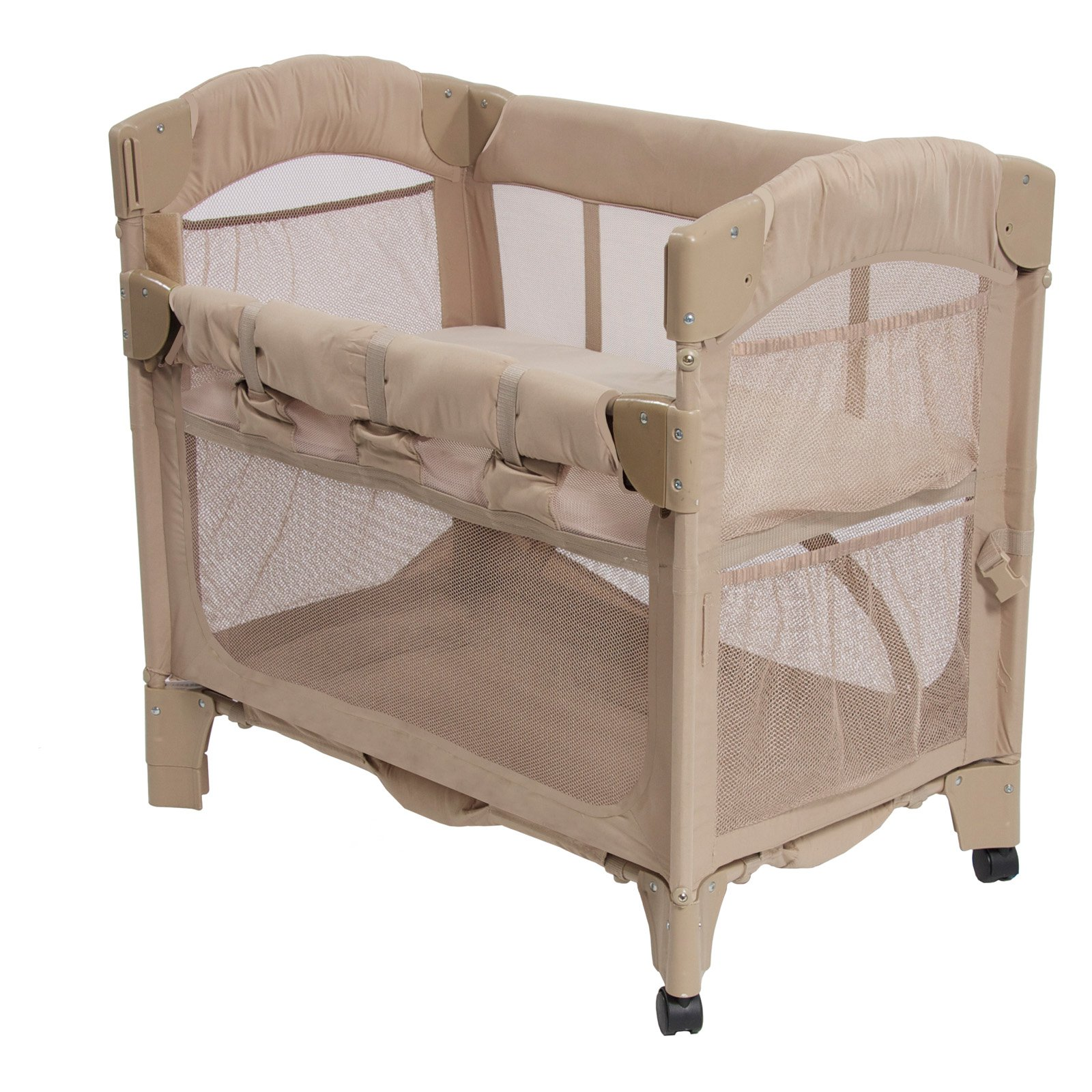 Arms Reach Mini Arc Co-Sleeper Bassinet - Toffee