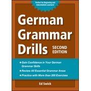 German Grammar Drills - eBook