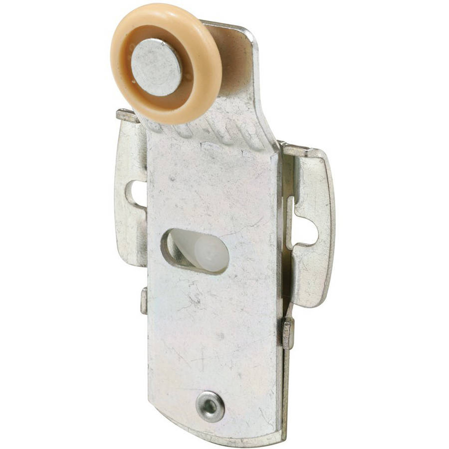Prime-Line Products N 6925 Closet Door Roller, Front, 1/4-Inch Offset, 3/4-Inch Nylon Wheel,(Pack of 2)