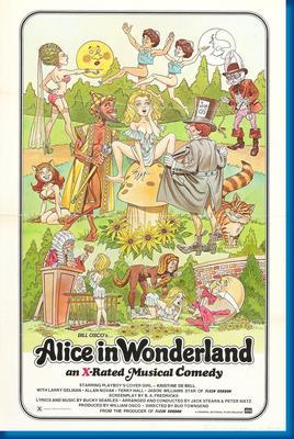 Alice In Wonderland Movie Poster Entertainment Decor by