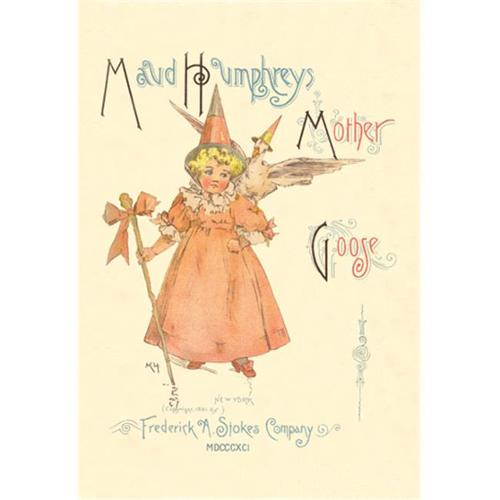 Buy Enlarge 0-587-05216-3P20x30 Maud Humphreys Mother Goose - book cover- Paper Size P20x30