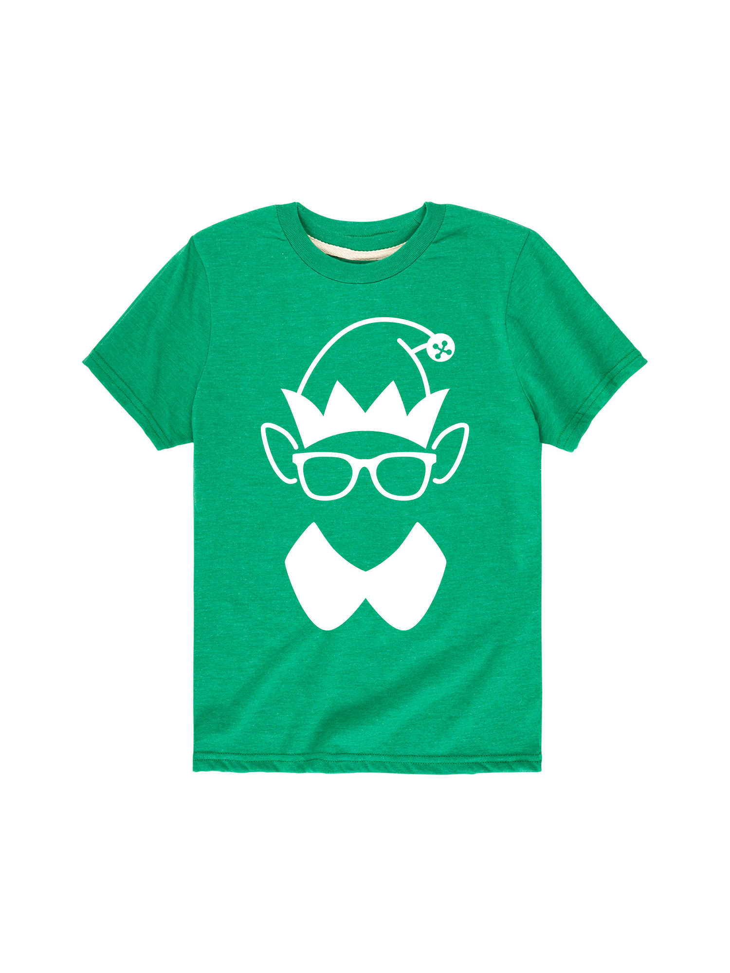 Elf Face Silhouette - Youth Short Sleeve Tee